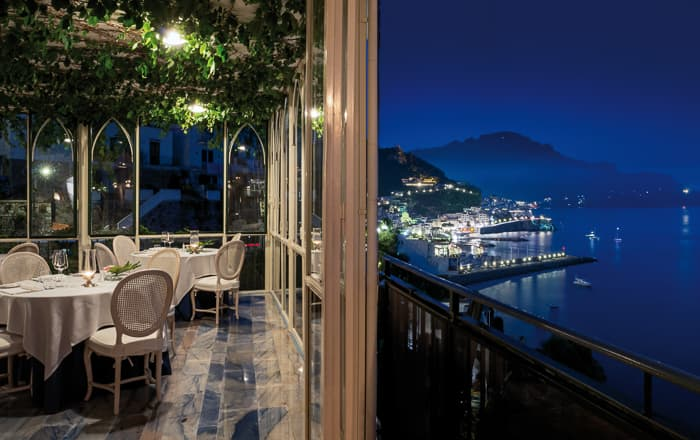 Restaurants And Bars Amalfi Coast Hotel Santa Caterina