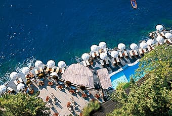 Beach club Hotel Santa Caterina
