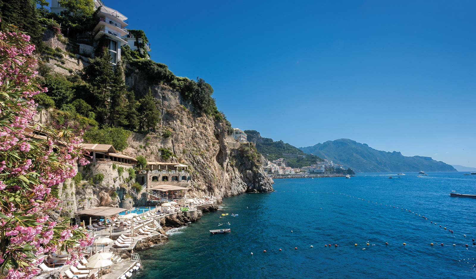 Private Beach On The Amalfi Coast Hotel Santa Caterina